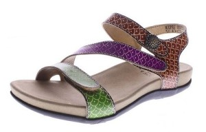 L'Artiste By Spring Step Novato Green Multi - $69.95