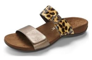 Vionic Camila Bronze Tan Leopard - $79.95