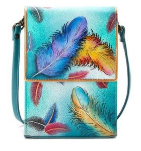 Floating Feathers Mini Sling Organizer - $140