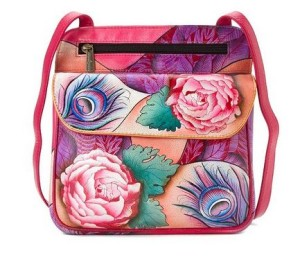 Rosy Reverie Multi Pocket Travel Crossbody - $182