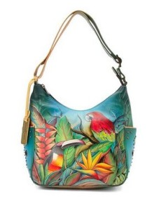 Tropical Bliss Hobo with Side Pockets - $240