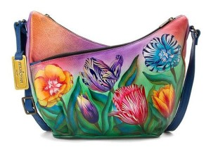 Turkish Tulips U-Top Convertible Hobo - $233