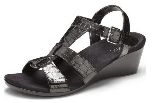 Vionic Glenda Black Crocodile - $99.95