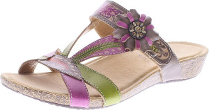 L'Artiste By Spring Step Wilma Gray Multi - $69.95