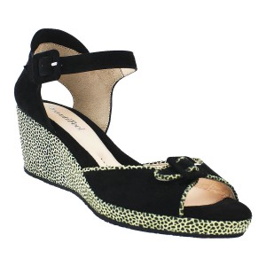 Beautifeel Juliana Black Giraffe Print Suede - $349