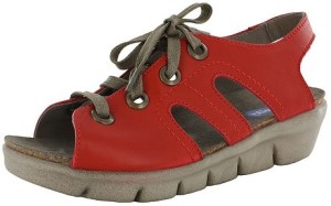 "Wonky ""Alula Red Soft Napa"" - $153.95"