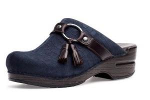 Dansko Shandi Blue Croc - $119.95